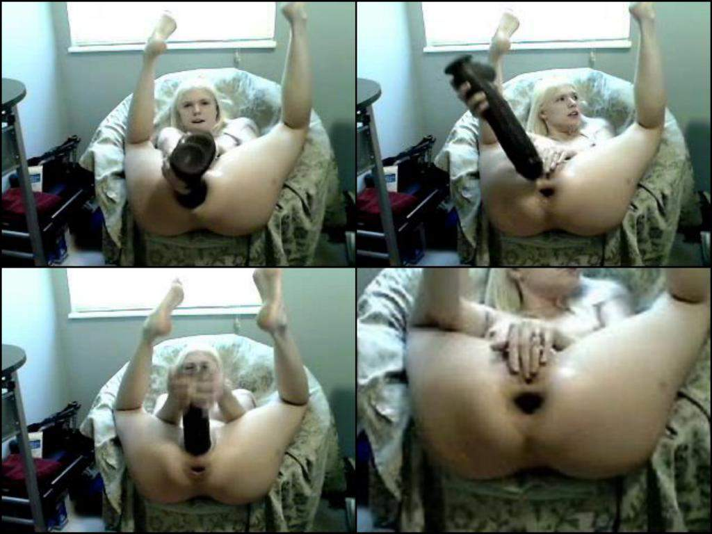 colossal gape anal,skinny blonde anal penetration monster dildo,epic size black toy penetration asshole,pussy penetration giant toy