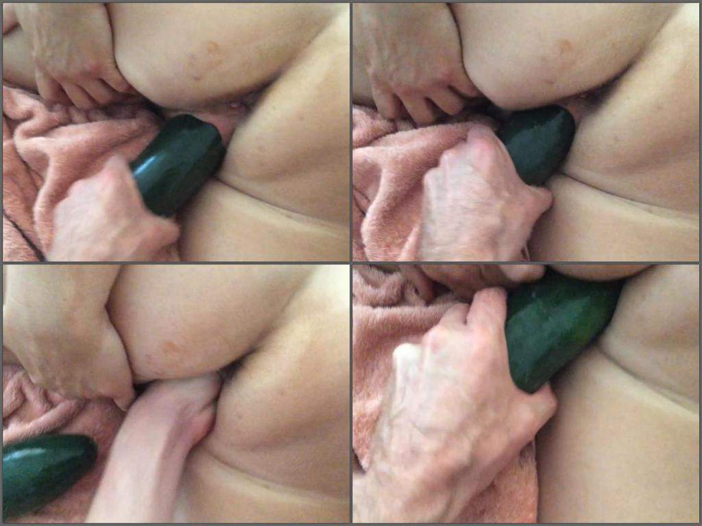 booty wife,cucumber fuck,big cucumber penetration,cucumber porn,mature gets fisted,amateur fisting sex