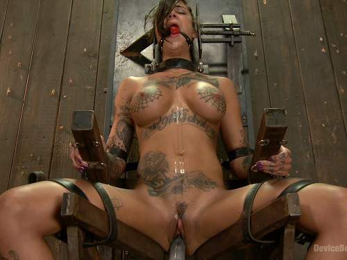 Bonnie Rotten extreme BDSM video