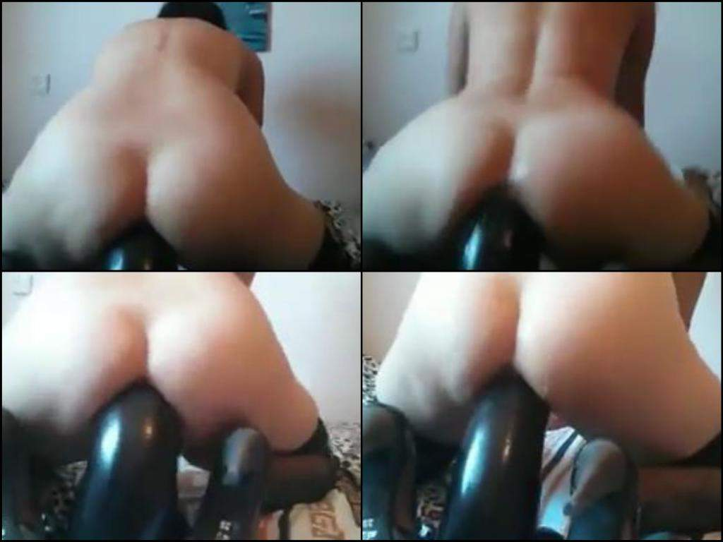 Think, that hot milf riding a huge toy