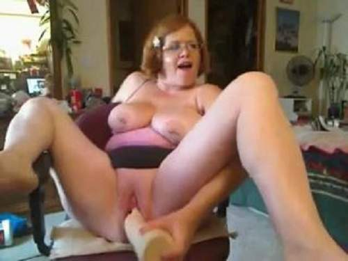 Girl Being Fisted Up Both Holes