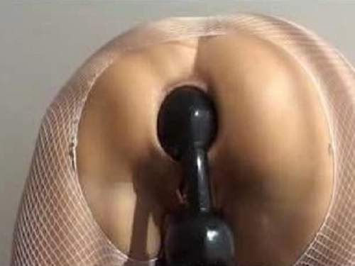Colossal ball anal penetrated awesome mature webcam