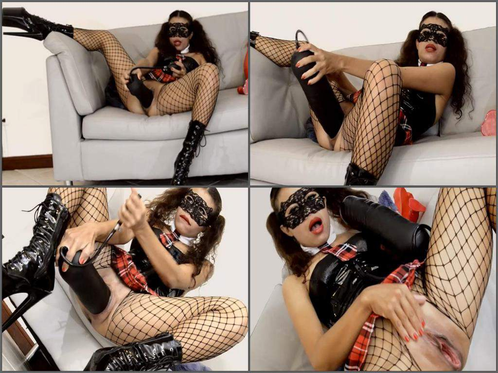 huge dldo penetration,dildo riding,inflatable toy fuck,huge inflatable dildo insertion,masked girl,new 2017 inflatable dildo fuck,huge boots
