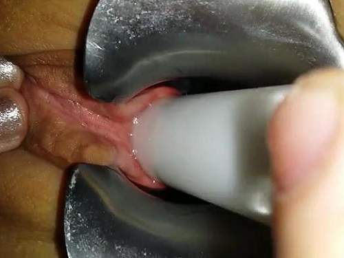 Bad dragon long dildo taken deep 2
