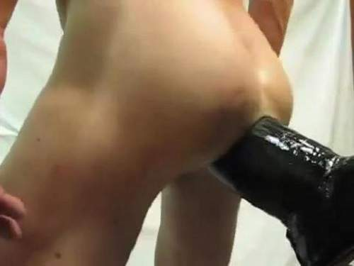 Gay webcam new shocking dildo fuck solo closeup