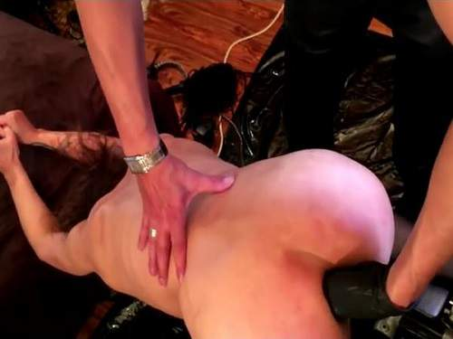 Husband domination to booty wife – fisting and plug fully anal