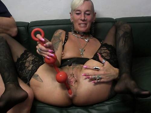 Huge red balls anal ruined sexy german girl 2017