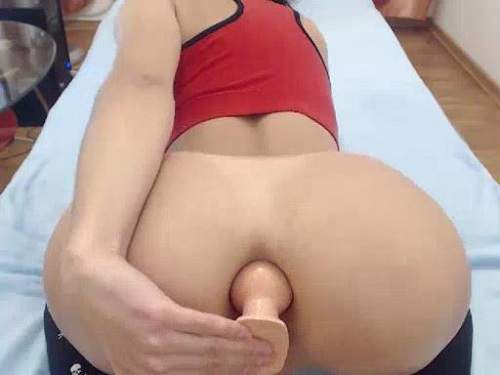 Hot booty slut stretched her anus gape compilate