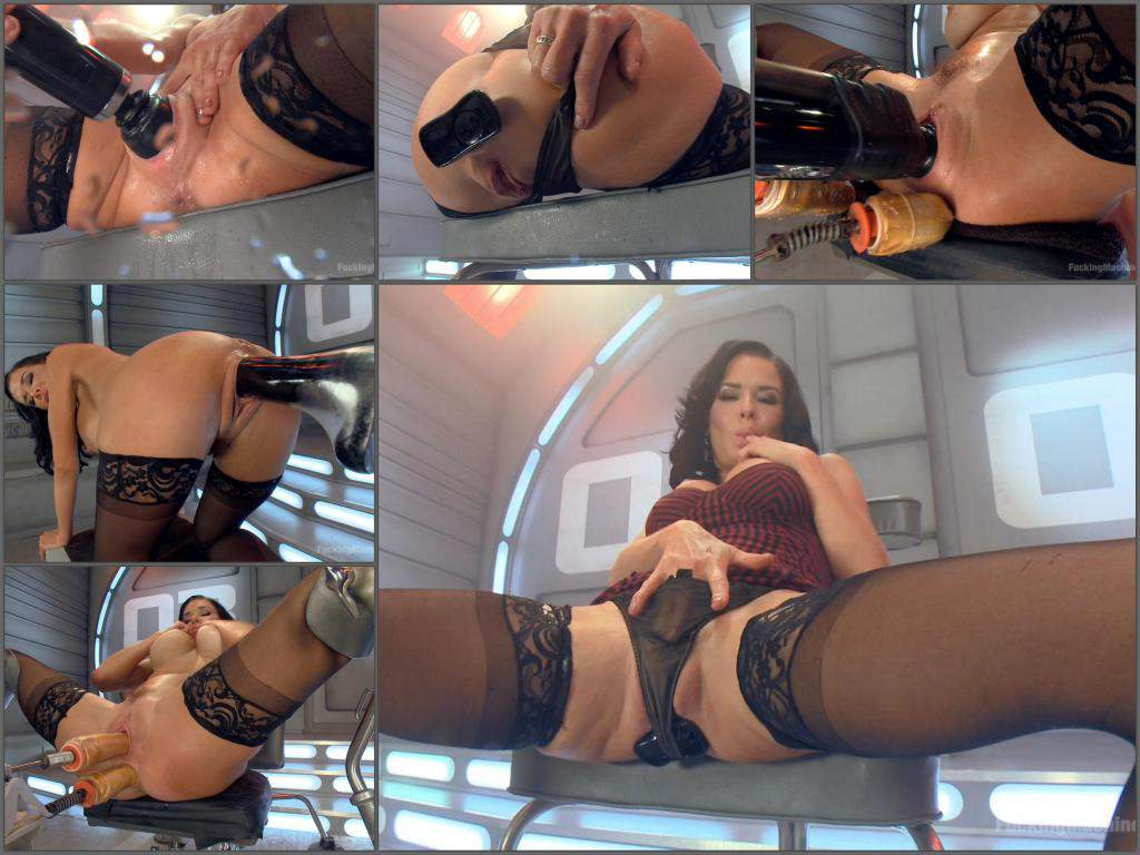 Milf Dildo Machine Squirt
