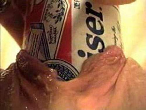 Vintage amateur mature skips on huge beer tin