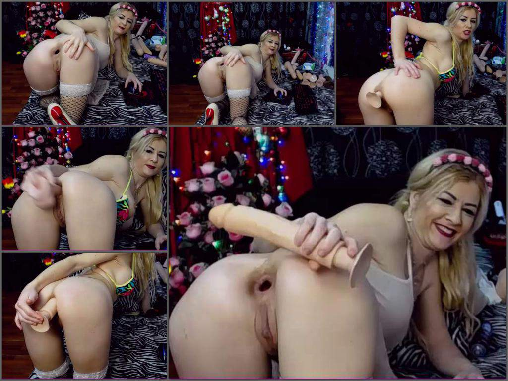 mature dildo anal,huge dildo anal,big dildo fuck in ass,anal gape loose,perverted mature anal,webcam milf dildo fuck