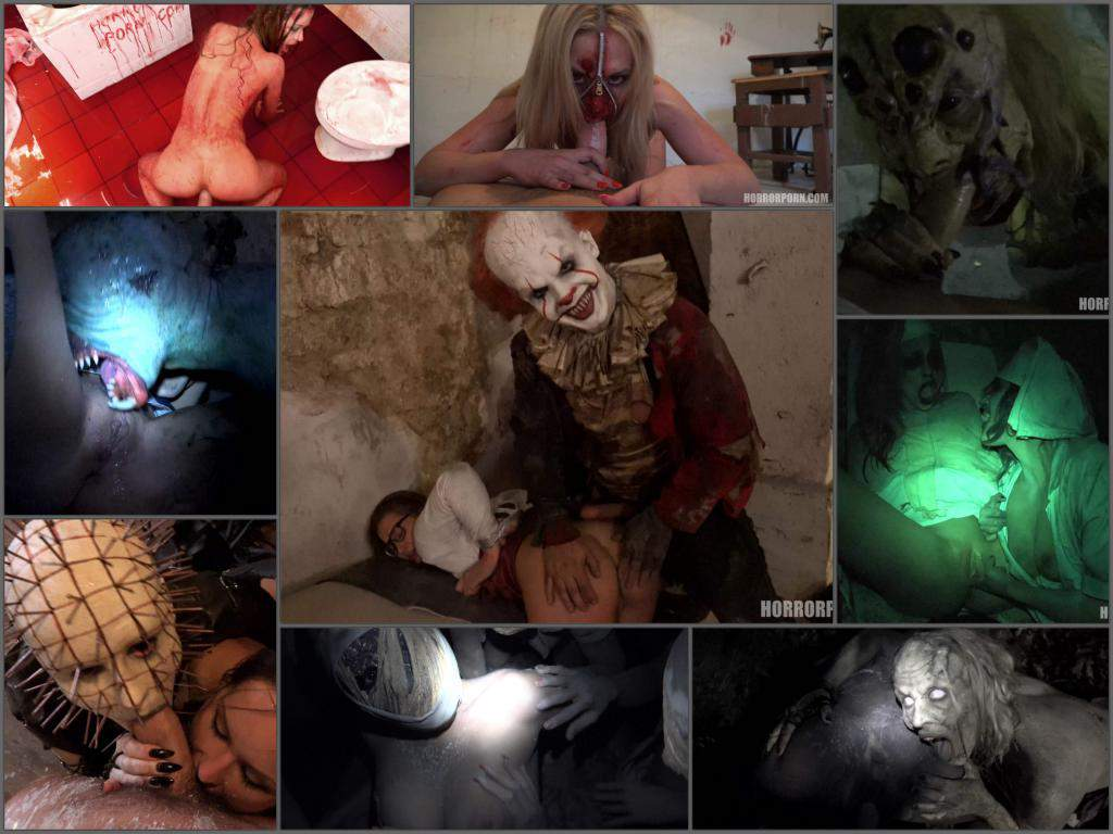 HorrorPorn Full SiteRip – all 48 videos in UltraHD quality – Scary halloween surprise