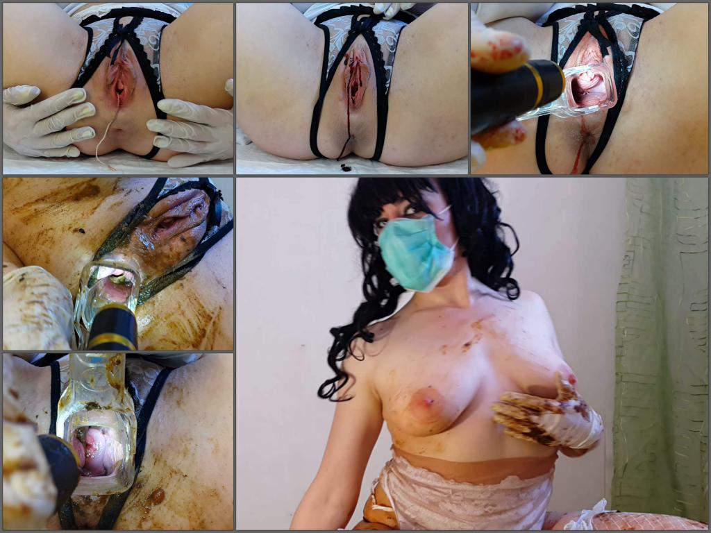 speculum in bloody pussy,bloody period porn,scat in bloody ass,speculum examination,balls in bloody pussy