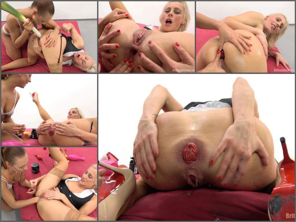 Bears Homemade Porn prolapse porn with brittany bardot jelly bears in the ass