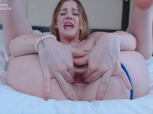 Gingerspyce hotel succubus – double dildo porn to gape