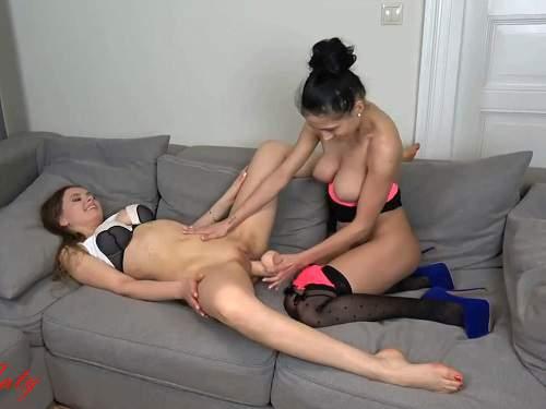 Closeup – New 2018 SexyNaty lesbians dildo porn homemade