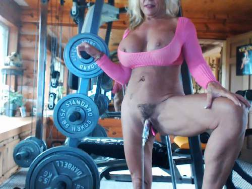 Pussy pump – Musclemama4u big clit and fucking machine games vaginal