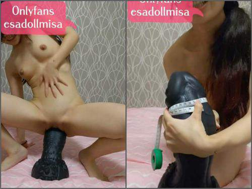 Esadollmisa bad dragon dildo porn,Esadollmisa bad dragon dildo sex,dildo sex,Esadollmisa dildo fuck in pussy,uncensored jav porn,jav video,big toy in wet pussy