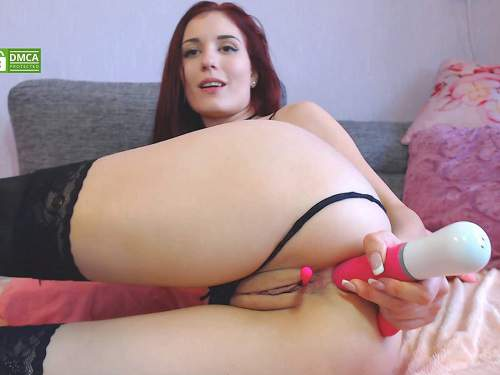 Dildo porn – Sonya_Keller self big dildo vaginal riding and vibrator anal