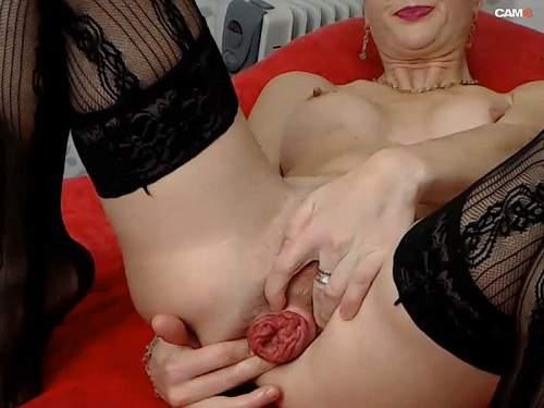 Dildo anal – Kinkylolaxxx anal prolapse stretching and gape hardcore