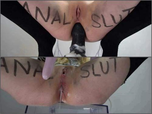 Teen anal – MissPrincessKay slut training diaries #1: anal training