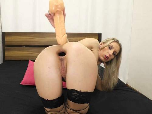 Busty girl – Perverted busty blonde Elen Hot extreme anal gape loose