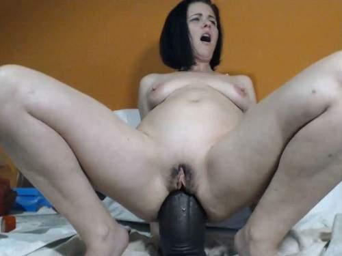 Close up – Kinkyvivian anal rosebutt and fisting sex herself webcam show