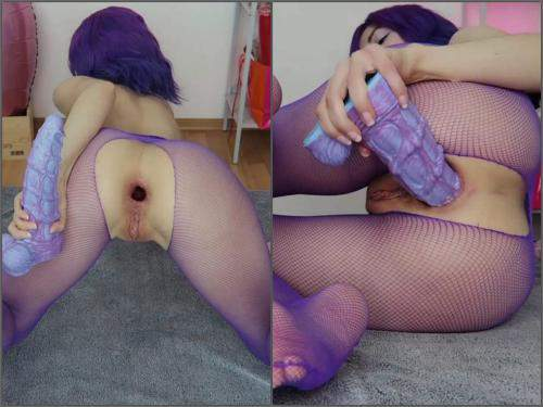 Webcam – Mylene seahorse ass to mouth play @HankeysToys – Premium user Request