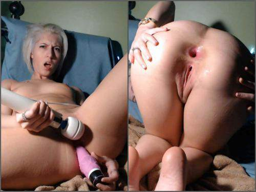 Anal – CamGirlJade big toy in my tiny asshole anal prolapse webcam