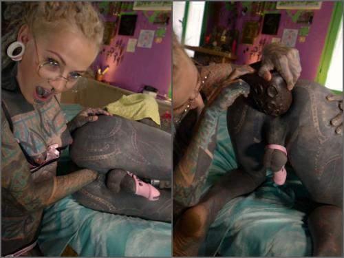 Deep fisting – Anuskatzz 2.brave tattoo sissy slut gets fisted homemade