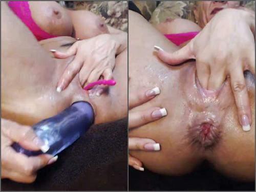 Closeup – Webcam muscular MILF musclemama4u first show little anal rosebutt