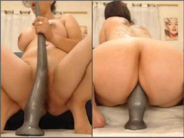Huge dildo - Webcam yeni_luv_anal very long dildo fully penetration anal