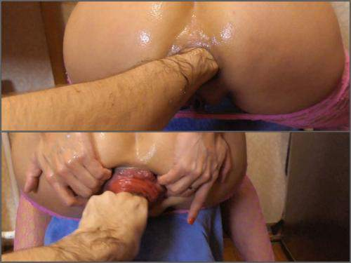 Deep fisting – Raduga aka Alisa Lisa fantastic anal fisting to prolapse – Premium user Request