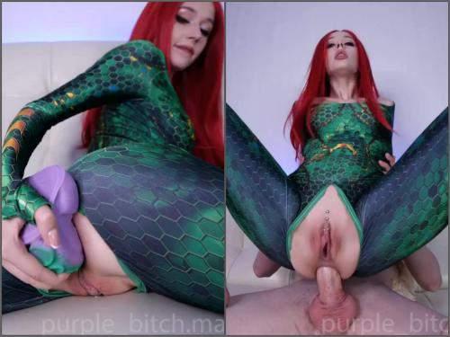 Dragon dildo – Purple_bitch intense anal sex with mera webcam