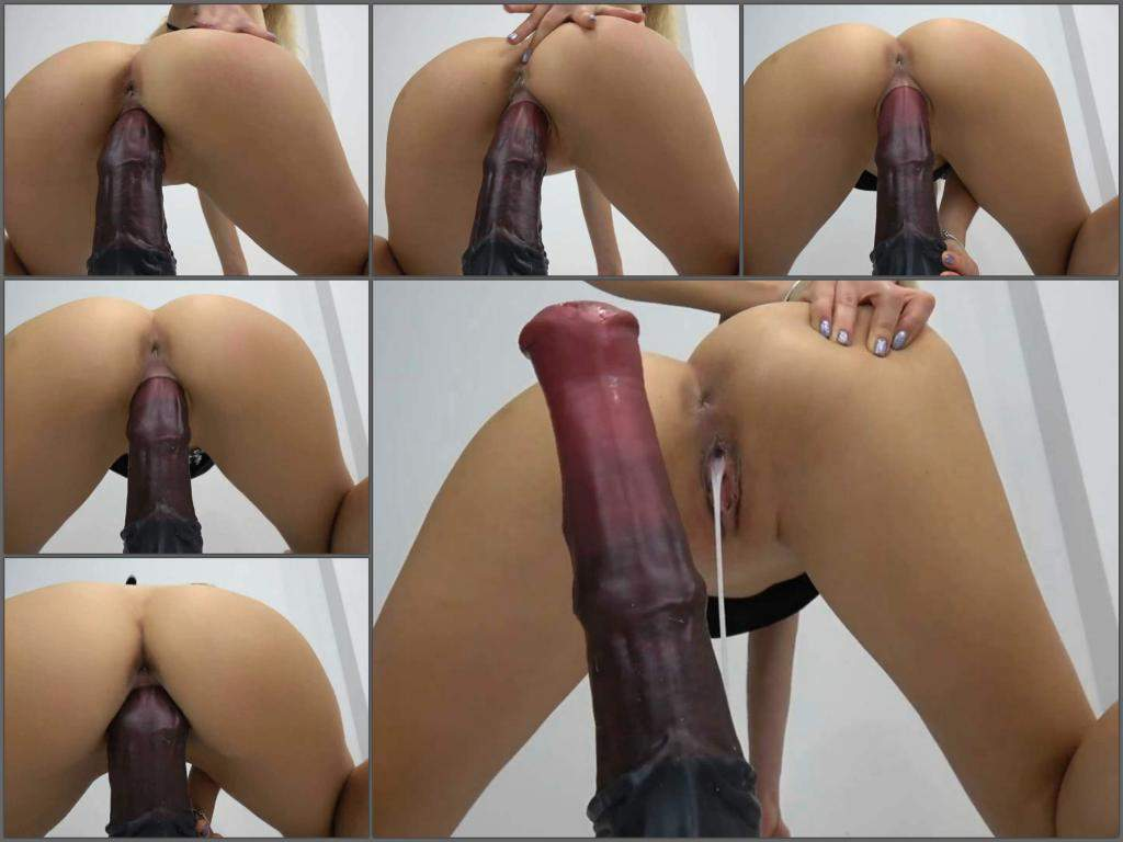 Girl Riding Dildo Sexy Cum