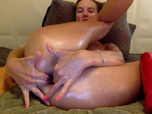 Webcam – Webcam russian large labia girl bbmix996 stretched her gaping hole