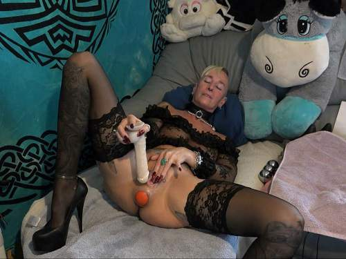 Properties woman ass mature dildo his are absolutely right