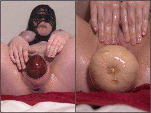Mask Fetish – DirtyDance22 fruit and veg will wreck my pussy with masked wife