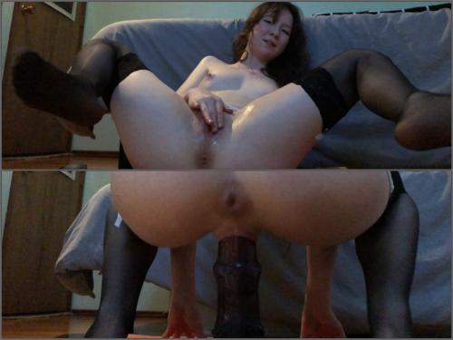 Gaping anal – BadDragonSlayer my pussy takes horsecock deep and fast – Premium user Request