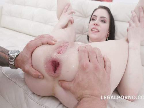 Gaping asshole – Anna De Ville again gets DAP to sweet gaping anus hole