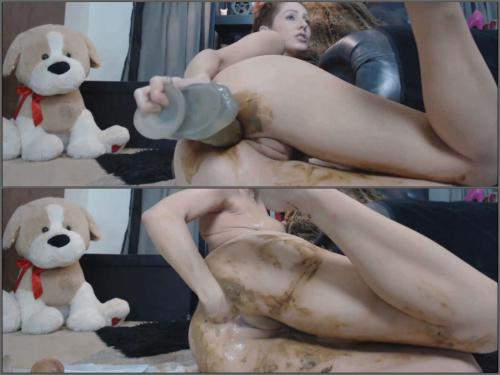 Vomit – Scat girl MoxiMinx I puke, smear and eat shit for you