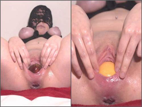 Food porn – Amateur dirty masked wife Dirtydancer22 awesome food porn
