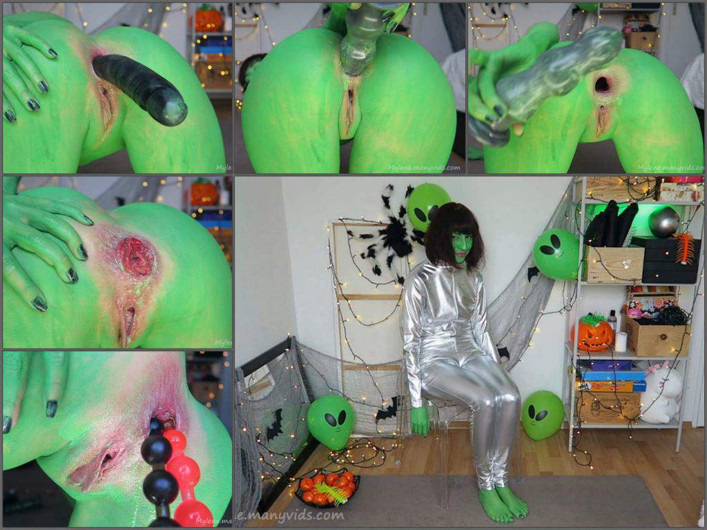 Mylene dirty creature RP,anal prolapse,alien porn,halloween porn,halloween porn cosplay,dildo anal,prolapse sex video,huge dildo in ass