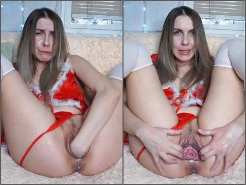 Christmas – New russian LinaFoX hot snow maiden – Premium user Request