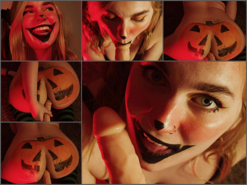 Jaybbgirl fuck my pumpkin,Jaybbgirl halloween porn,Jaybbgirl dildo anal,Jaybbgirl dildo penetration,halloween anal,halloween anal sex,blowjob with dildo,full hd xxx