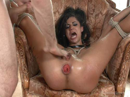 Prolapse ass – Bonnie Rotten anal prolapse and squirting maledom