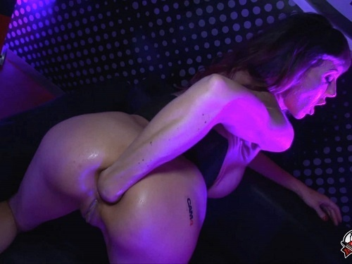 Anal fisting – Big tits Spanishstarx public fisting and gets fisted from male