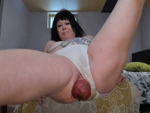 Smearing scat – Shitting panty fetish with huge anal prolapse homemade xxx