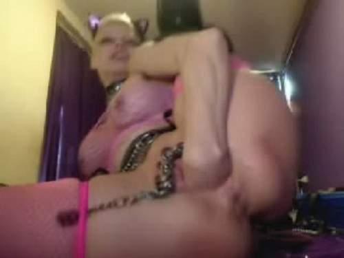 Rosebutt – Webcam rosebutt anal and clitoris pumping