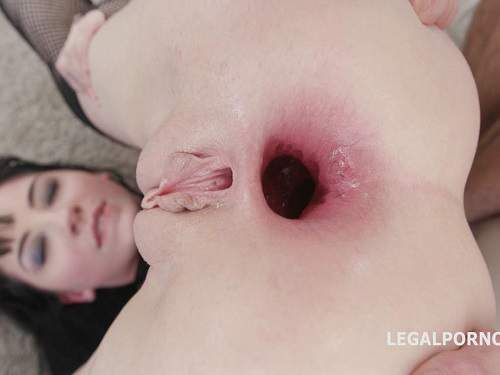 Anal – July Sun and Charlotte Sartre lesbians fisting to gaping anal – October 05, 2017